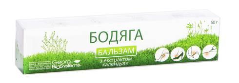 Бодяга з екстрактом календули бальзам 50 г 1 туба