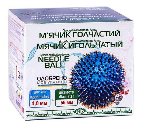 Аплікатор Ляпко М`ячик голчастий 55 мм 1 шт