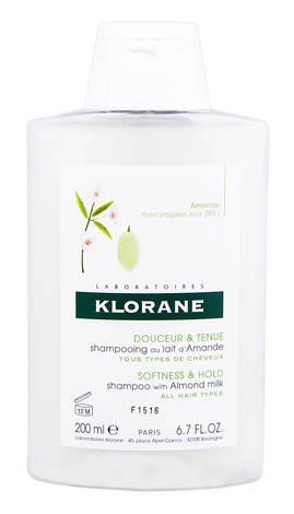 Klorane Шампунь з мигдальним молочком для всіх типів волосся 200 мл 1 флакон
