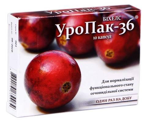 УроПак-36 капсули 10 шт