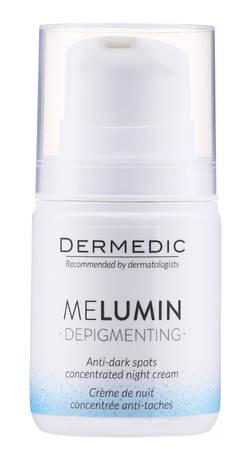 Dermedic Melumin Крем для обличчя нічний проти пігментних плям 62231 55 мл 1 флакон