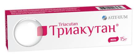Триакутан мазь 15 г 1 туба
