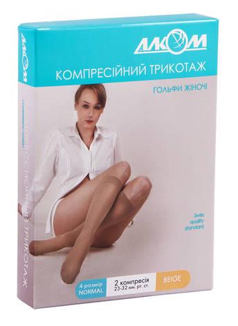 Алком 5012 Гольфи жіночі компресія 2 розмір 4 бежевий 1 пара