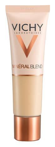 Vichy Mineralblend Засіб тональний зволожуючий для надання шкірі природнього сяючого вигляду, відтінок 01 30 мл 1 туба