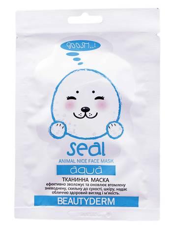 Beautyderm Маска зволожуюча Animal Seal Aqua 25 мл 1 пакет