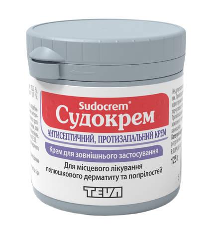 Судокрем крем 125 г 1 банка