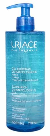 Uriage Гель дерматологічний очищуючий 500 мл 1 флакон