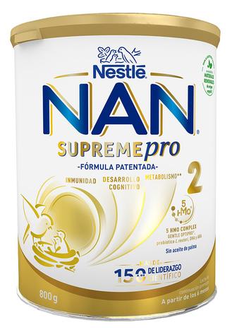 NAN Supreme 2 Суха дитяча молочна суміш з 6 місяців 800 г 1 банка