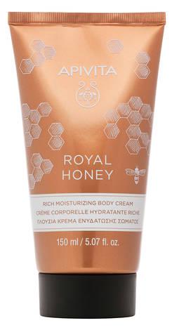 Apivita Royal Honey Крем збагачений зволожувальний для тіла 150 мл 1 туба