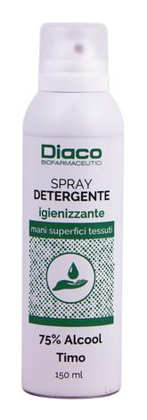 Спрей Діако дезінфікуючий для рук, поверхонь і тканин спрей 150 мл 1 флакон