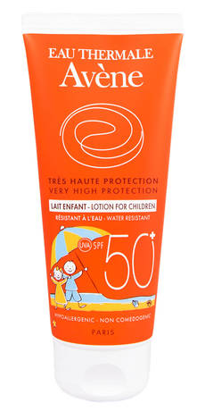Avene Молочко сонцезахисне для дітей SPF-50+ 100 мл 1 туба