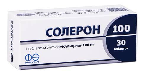 Солерон таблетки 100 мг 30 шт