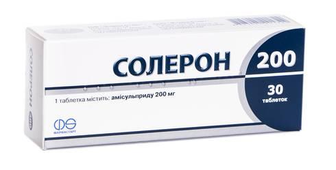 Солерон таблетки 200 мг 30 шт