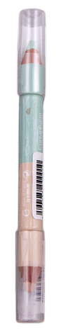 Eye Care Cosmetics Олівець-коректор подвійний колір бежевий-зелений 2 г 1 шт