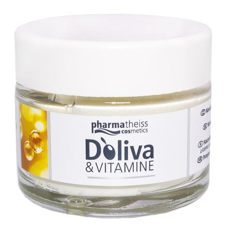 Doliva Крем вітамінний для відновлення та сяяння шкіри обличчя з SPF 6 50 мл 1 банка