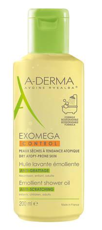A-Derma Control Олія для душу очищувальна для сухої шкіри, схильної до атопії 200 мл 1 флакон