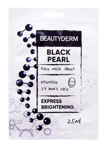 Beautyderm Маска інтенсивна для обличчя Чорна перлина 25 мл 1 пакет