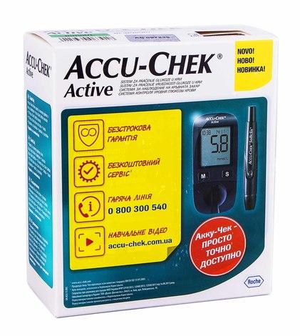 Accu-Chek Active Глюкометр 1 шт