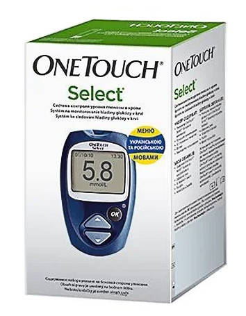 OneTouch Select Глюкометр 1 шт