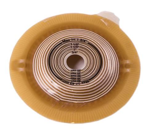 Coloplast 46769 Пластина Alterna Convex  фланець-60 мм 15x43 мм 4 шт