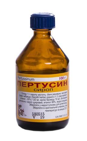 Пертусин сироп 100 мл 1 флакон