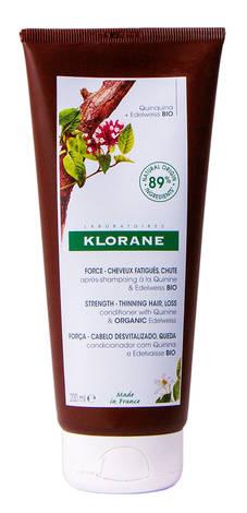 Klorane Бальзам-ополіскувач для волосся з хініном проти випадіння волосся 200 мл 1 туба