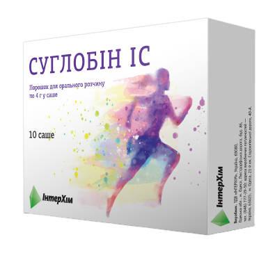 Суглобін IC порошок для орального розчину 4 г 10 саше