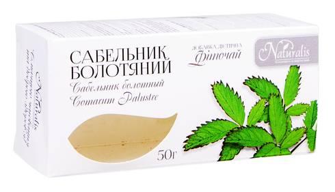 Naturalis Сабельник болотяний фіточай 50 г 1 пачка
