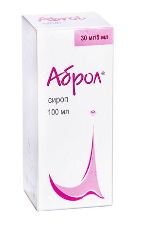 Аброл сироп 30 мг/5 мл  100 мл 1 флакон