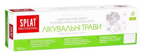 Splat Professional Зубна паста Лікувальні трави 100 мл 1 туба