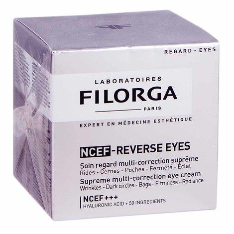 Filorga NCEF Reverse Мультикоригувальний крем для контуру очей 15 мл 1 банка