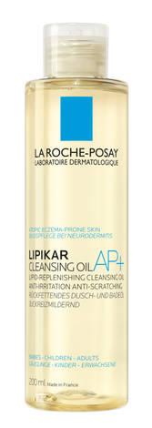 La Roche-Posay Lipikar Олія ліпідовідновлювальна пом'якшуюча для ванни і душу 200 мл 1 флакон