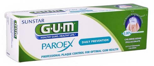 Gum Paroex Daily Prevention 0,06 % Зубна паста 75 мл 1 туба