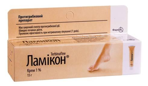 Ламікон крем 1 % 15 г 1 туба