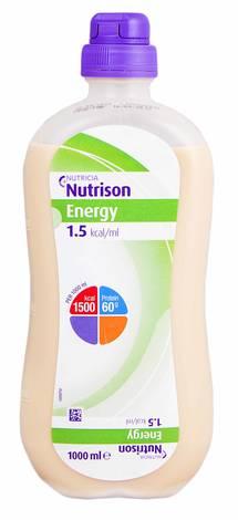 Nutricia Нутрізон Енергія Ентеральне харчування від 3 років суміш рідка 1000 мл 1 флакон