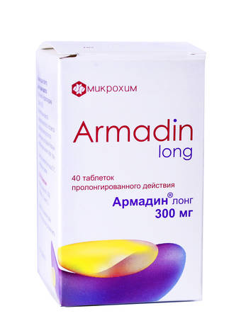 Армадин Лонг таблетки 300 мг 40 шт