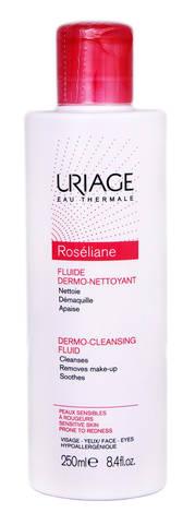 Uriage Roseliane Емульсія дермоочищаюча для чутливої шкіри, схильної до почервоніння 250 мл 1 флакон
