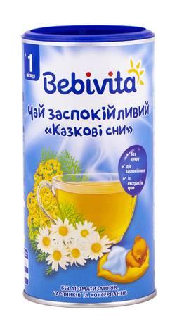 Bebivita Чай заспокійливий Казкові сни з 1-го місяця 200 г 1 банка