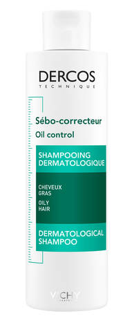 Vichy Dercos Себо-регулюючий шампунь-догляд для жирного волосся 200 мл 1 флакон
