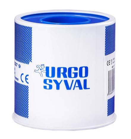 Urgo Ургосівал пластир повітропроникний з тафти 5 м x 5 см білий 1 шт