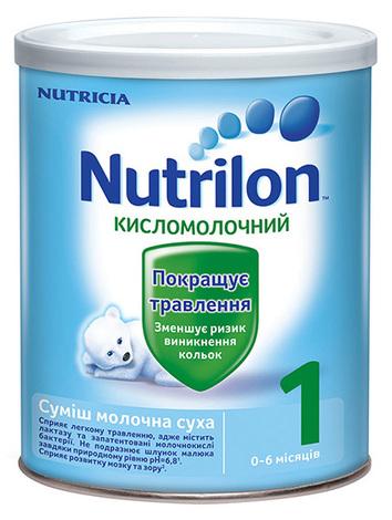 Nutrilon Kисломолочний 1 Суміш молочна 0-6 місяців 400 г 1 банка