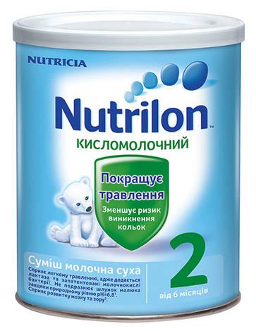 Nutrilon Kисломолочний 2 Суміш молочна від 6 місяців 400 г 1 банка