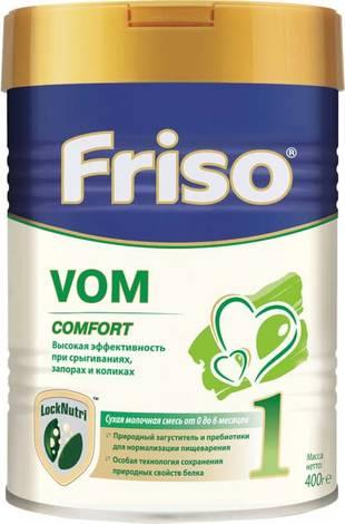 Friso Vom 1 Comfort Суміш суха молочна для дітей від 0 до 6 місяців 400 г 1 банка