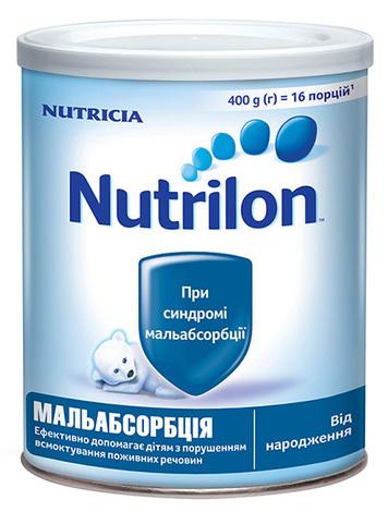 Nutrilon Мальабсорбція Суміш молочна від народження 400 г 1 банка