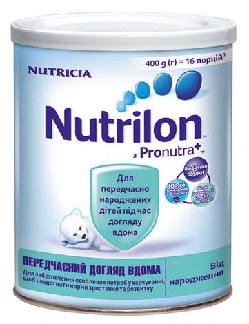 Nutrilon Передчасний догляд вдома Суміш молочна від народження 400 г 1 банка