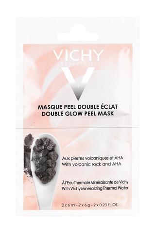 Vichy Маска-пілінг мінеральна для шкіри обличчя Подвійне сяяння 2х6 мл 1 шт
