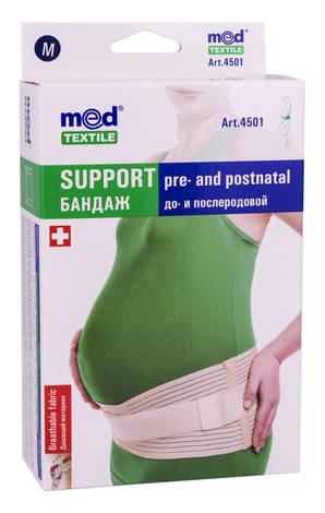 MedTextile 4501 Бандаж до та післяродовий люкс розмір М 1 шт