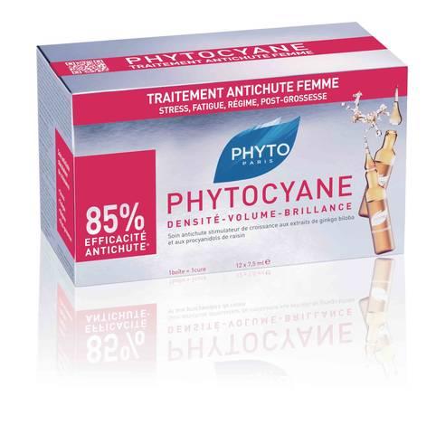 Phyto Phytocyane Засіб проти випадіня волосся 7,5 мл 12 флаконів