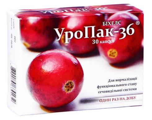 УроПак-36 капсули 30 шт