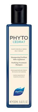 Phyto Cedrat Шампунь лікувальний себорегулюючий для жирної шкіри голови 250 мл 1 флакон
